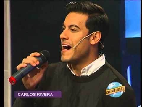 Carlos Rivera video Voy a amarte - Estudio CM 2016