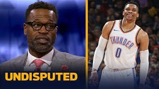 Westbrook would fit with the Heat, they'll hold him accountable — Stephen Jackson | NBA | UNDISPUTED