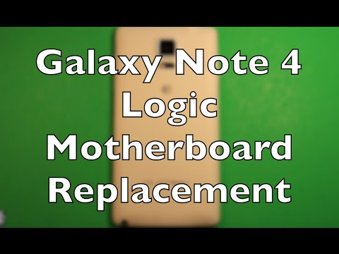 Galaxy Note 4 Logic Board Motherboard Replacement How To Change