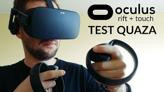 Oculus Rift + Touch - test quaza