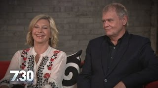 Olivia Newton-John and John Farnham together again