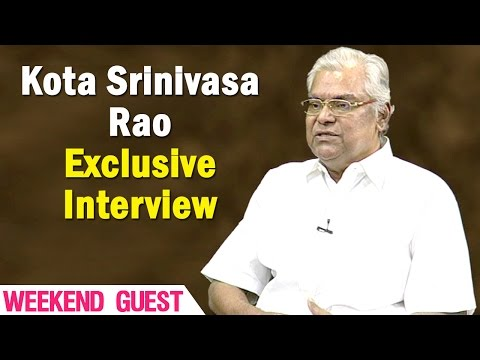 Exclusive Interview with Kota Srinivasa Rao || Weekend Guest || NTV