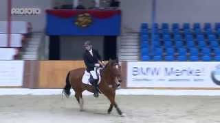 Vechta Hallenchampionat 2015 Prüfung 20 Sieger