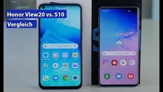 Samsung Galaxy S10 vs Honor View20 im Vergleich - die wichtigsten Unterschiede (deutsch HD)
