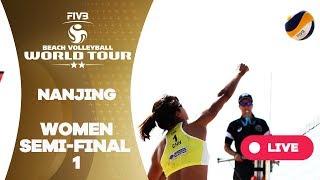Nanjing 2-Stars - 2018 FIVB Beach Volleyball World Tour - Women Semi Final 1
