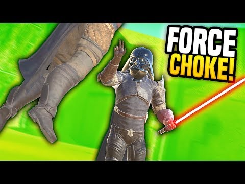DARTH VADER USING FORCE CHOKE - Blades and Sorcery VR Mods (Update 7)