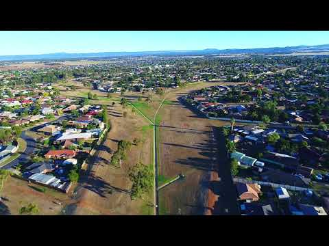 Aerial video of Arnolds Creek site