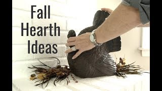 Fall Hearth Decorating Ideas