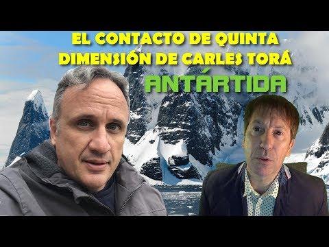 UN PILOTO CONTACTÓ EN QUINTA DIMENSIÓN EN LA ANTÁRTIDA: CASO CARLES TORA