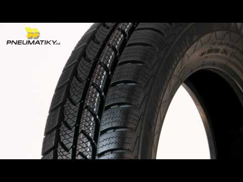 Youtube Continental VancoWinter 2 165/70 R14 C 89/87 R 6pr Zimní
