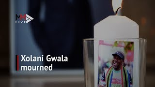 Legendary journalist Xolani Gwala mourned at memorial