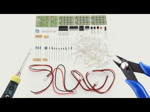 👻 Паяем стробоскоп 🚦 трехцветная мигалка 🚔 с AliExpress
