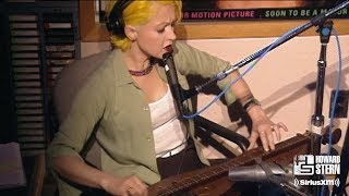 """Cyndi Lauper """"Time After Time"""" On The Howard Stern Show In 1995"""