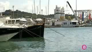 La primera casa flotante construida con materiales compuestos en Baleares