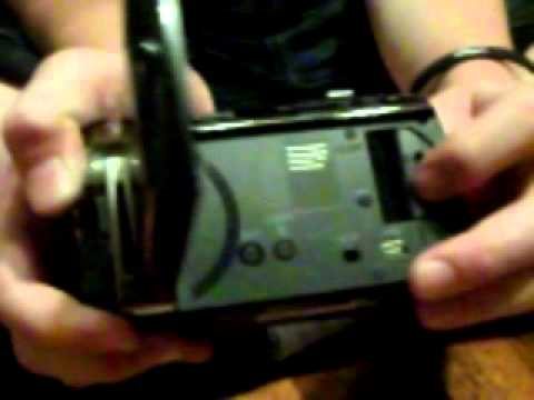 Unboxing der Panasonic SDR-S71