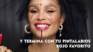 Nivea Tutorial: Disfrázate de Viuda Negra en Halloween con NIVEA MicellAIR Professional #ByeByeMaquillaje anuncio