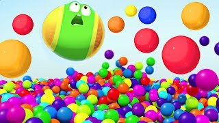 Surprise Orbeez Attack ✷ WonderBalls Funny Cartoons For Kids | Cartoon Candy