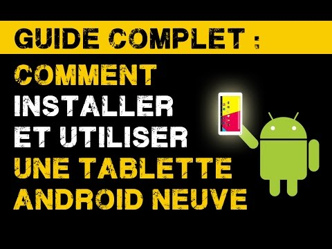 comment installer android sur tablette