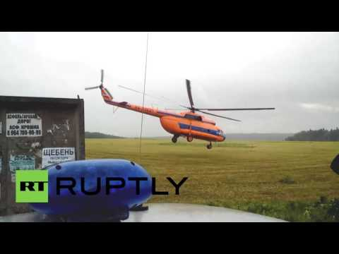 Russia: SU-27 fighter jet crashes in Moscow region, killing pilot