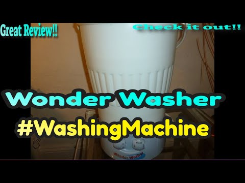 Wonder Washer Washing Machine Review By SashaMoniqueTalks
