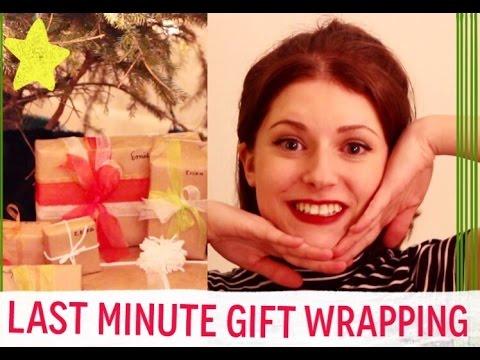 DIY Christmas gift wrapping tutorial!