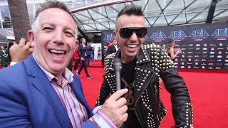 Anthony Callea Interview #ARIAs 2017