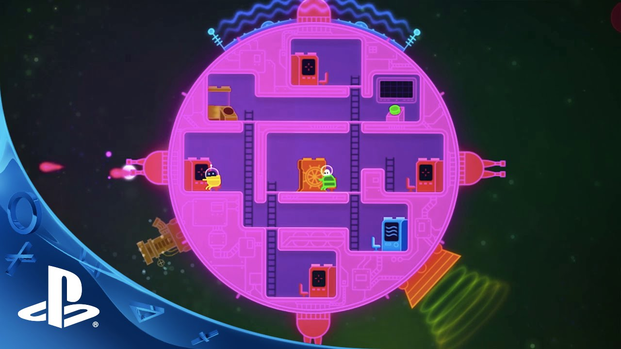 Lovers in a Dangerous Spacetime Coming to PS4 on February 9th