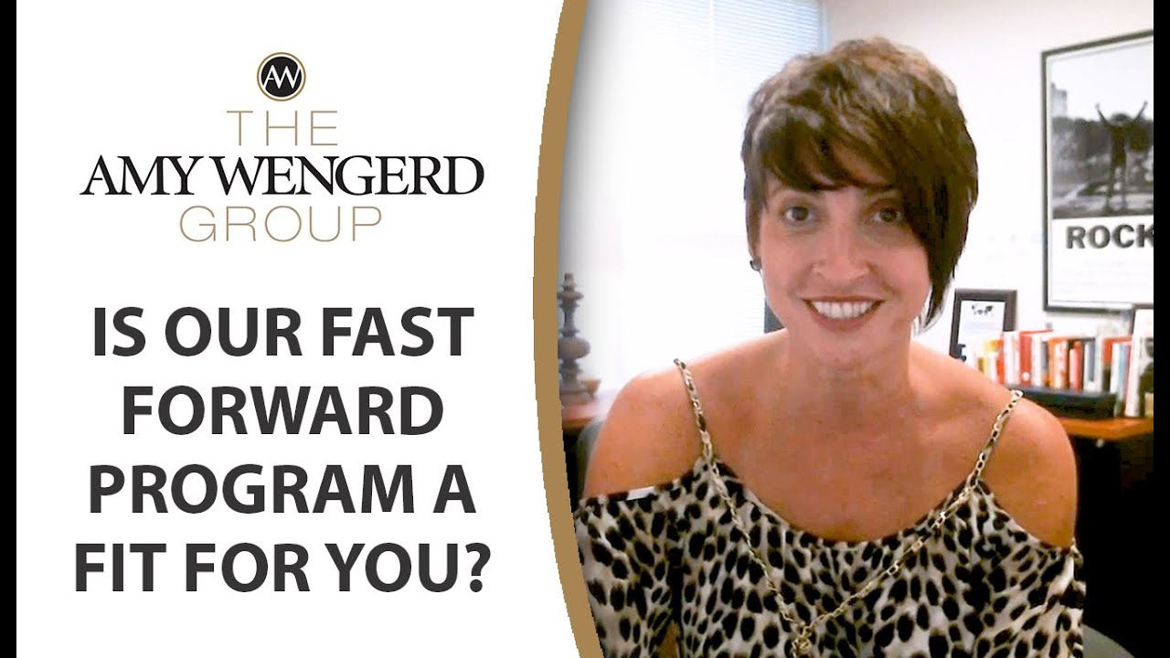 4 Scenarios Where Our Fast Forward Program Might Be Your Best Option