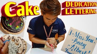 Dedication Cake Tutorial for beginners