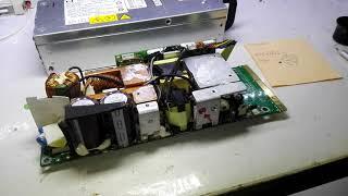 hp DPS-800GB repair 1000 W ремонт блока питания с сервера