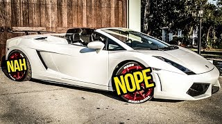 I Gave My Cheap Lamborghini's Ugly Wheels A HUGE UPGRADE (For Not Much Money)