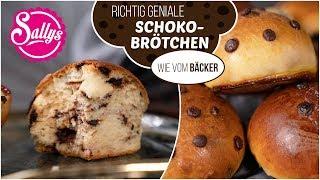 Schokobrötchen selbst gemacht / wie vom Bäcker / Sallys Welt