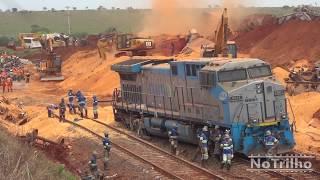 No Trilho - Acidente com trens em Aparecida do Taboado-MS