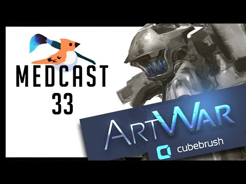 Medcast 33- ART WAR - How to Sci-fi? How to fantasy?