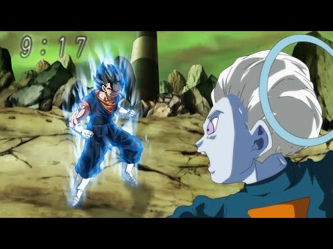 Vegetto Ultra Instinct vs Daishinkan - Dragon Ball Super