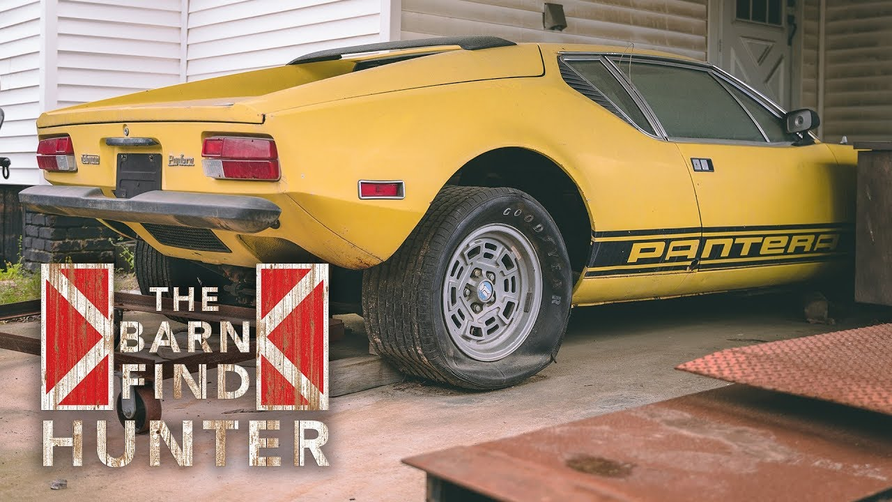 Barn Find Hunter uncovers time-capsule Pantera, R-Code Galaxie 500