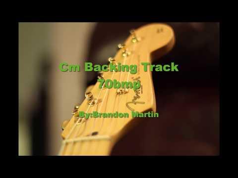 Chill Slow Guitar Cm Backing Track 70Bpm   Cm Jam Track