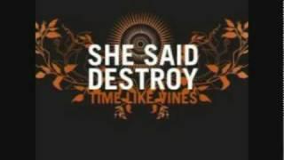 She Said Destroy - Shapeshifter