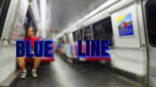 🚇/💺 WMATA Metrorail: Blue Line (BL) to Franconia-Springfield... FULL RIDE!