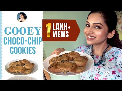 Gooey Choco-Chip Cookies | Homemade Recipes | Cook with Nakshu