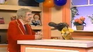 Captain Kangaroo with Mr. Moose and Bunny Rabbit