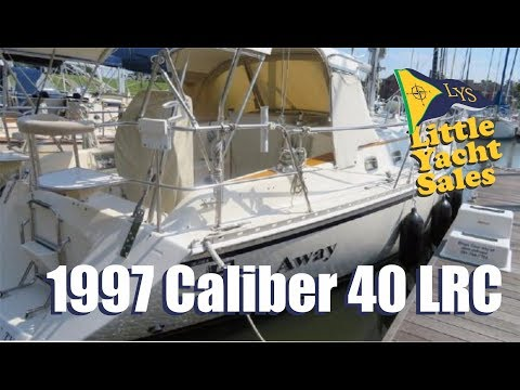 SOLD!!! 1997 Caliber 40 LRC Sailboat for sale at Little Yacht Sales, Kemah Texas