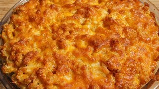 5 CHEESE SOUTHERN BAKED MAC & CHEESE  How To Make Southern Baked mac and Cheese