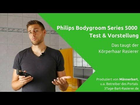 Philips Bodygroom Series 5000 BG2036:   Vorstellung unserer Kaufempfehlung für Männer Körperrasierer