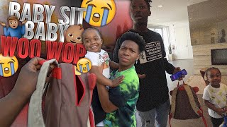 Asking Friends If They'll Baby Sit WooWop On Short Notice   Part 2 . . . * Crazy Reaction *