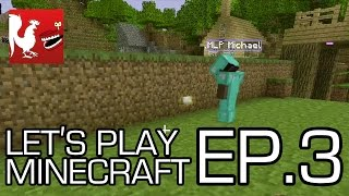 Let's Play Minecraft - Episode 3 - PLAN G | Rooster Teeth