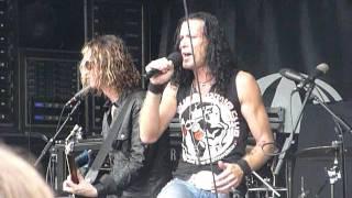 "Art of Dying ""Best I Can"" Uproar Festival, Scranton, PA 8/27/11 live concert"
