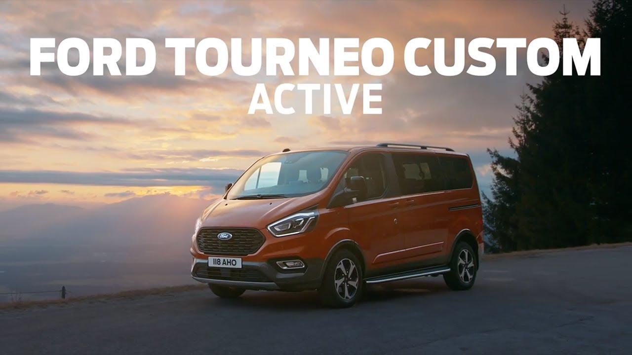 New Go Anywhere Trail And Active Models Take Ford Transit Range