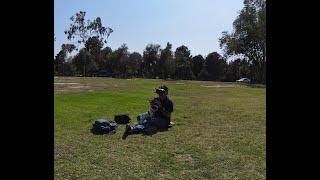 Flying DJI FPV at El Dorado Park, Long Beach CA