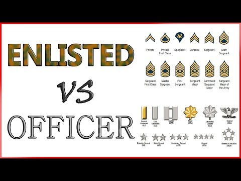 Army ENLISTED Vs OFFICER | Roles And Responsibilities Mp3